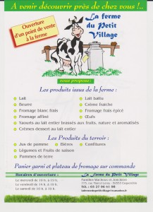 La Ferme du Petit Village 1_2 001
