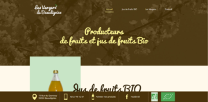 Site Web Verger de Beaudignies